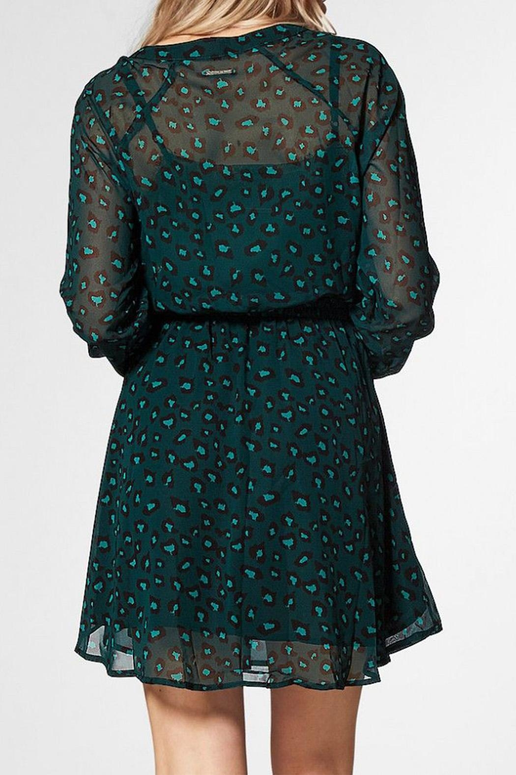 Circle Of Trust Kira Green Dress - Side Cropped Image