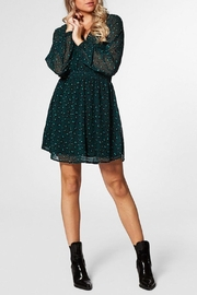 Circle Of Trust Kira Green Dress - Front cropped