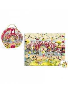 Janod Circus Puzzle - Product List Image