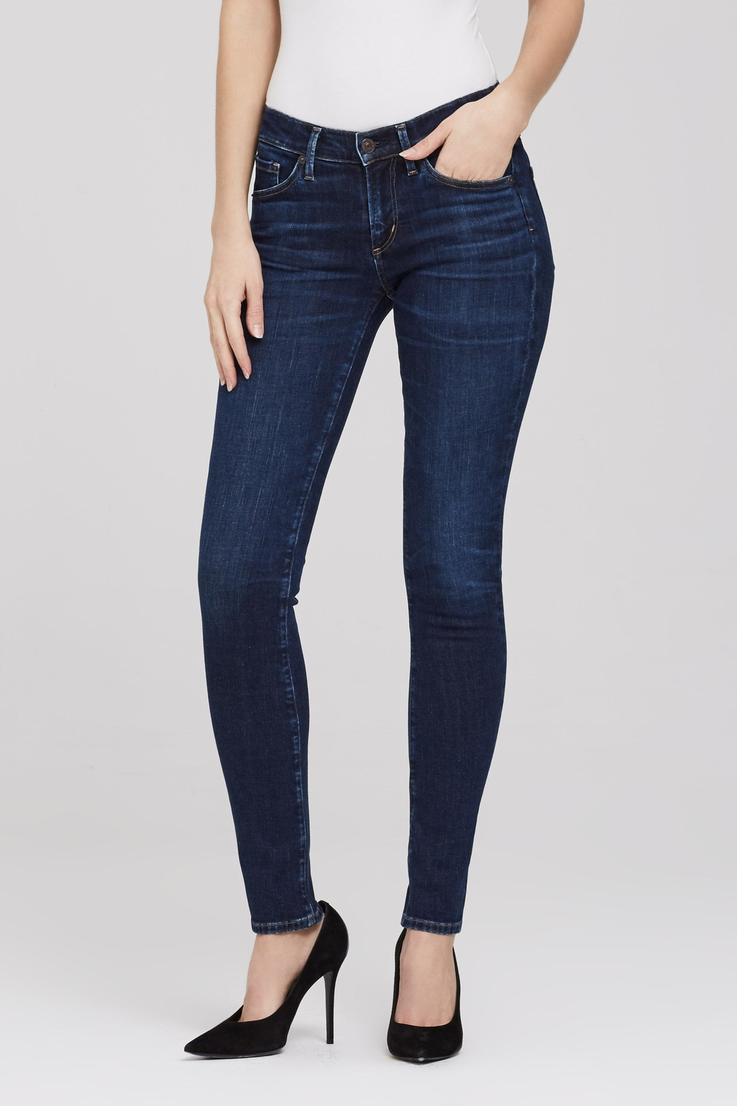 Citizens of Humanity Arielle Mid-Rise Slim - Main Image
