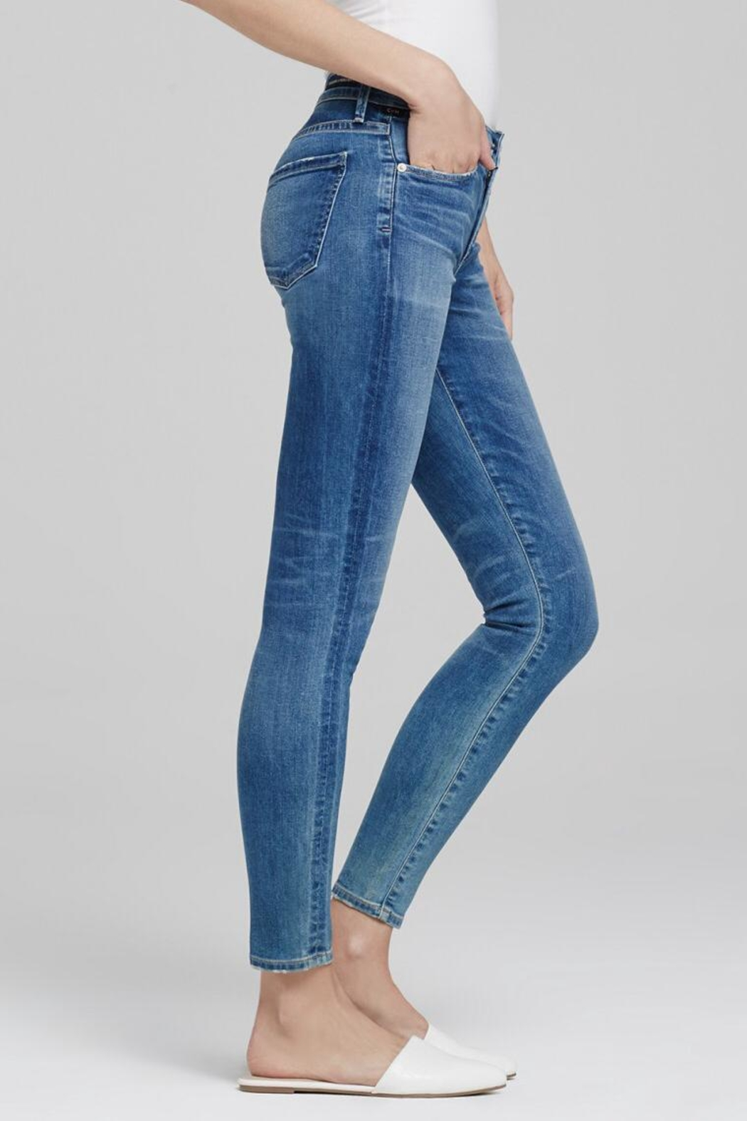 Citizens of Humanity Avedon Ankle Skinny Jeans - Front Full Image