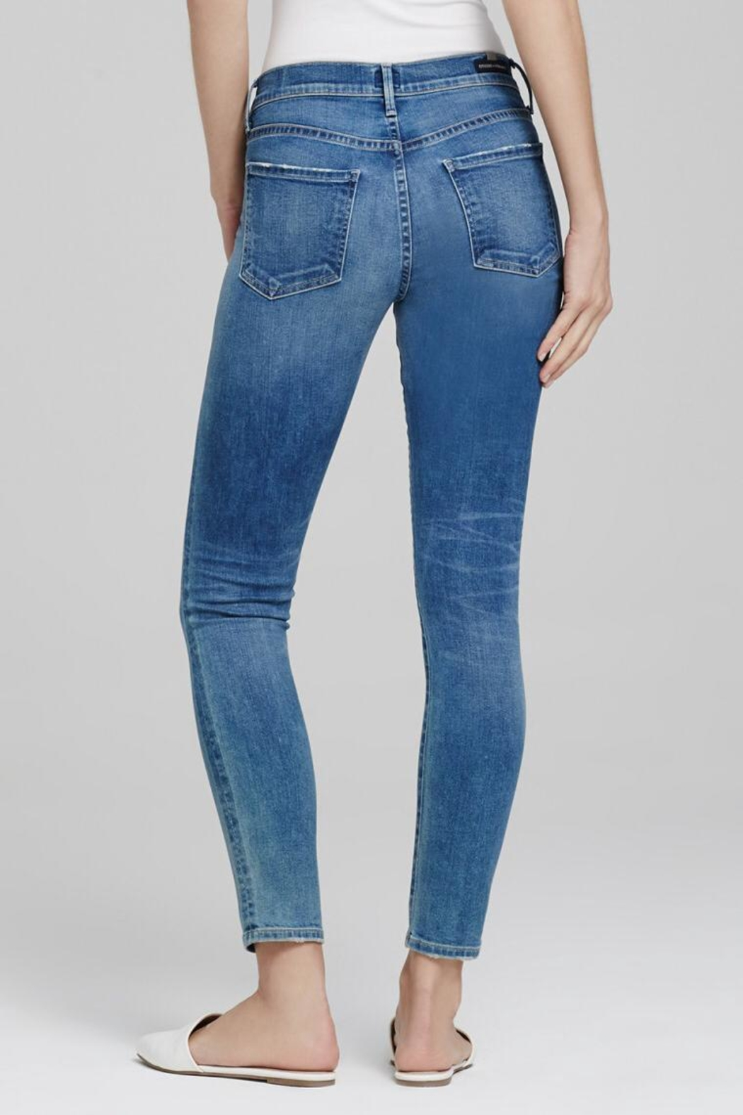 Citizens of Humanity Avedon Ankle Skinny Jeans - Side Cropped Image