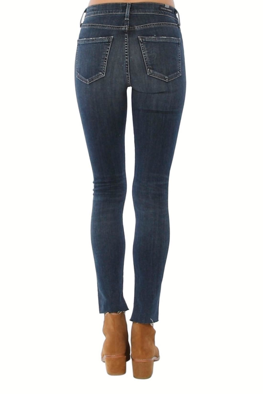 Citizens of Humanity Rocket High Low Jeans - Front Full Image