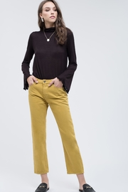 Blu Pepper Citrine Cropped Pants - Product Mini Image