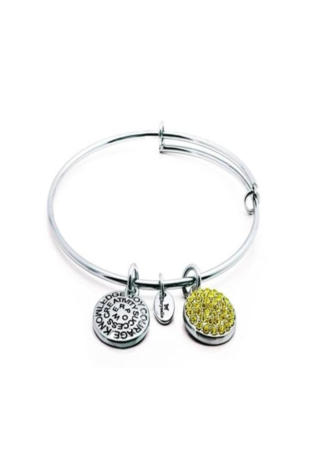 Chrysalis Citrine Crystal Bangle - Main Image