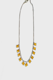 The Woods Fine Jewelry  Citrine Drop Necklace - Product Mini Image