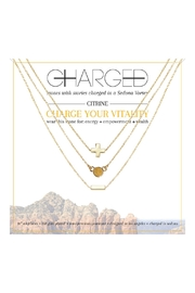 CHARGED Citrine Layered Necklaces - Product Mini Image