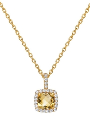 Lafonn Citrine Necklace - Front cropped
