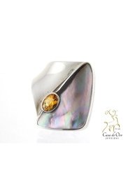 CDO  Citrine Oyster Ring - Product Mini Image