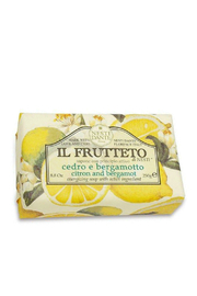 Nesti Dante CITRON & BERGAMOT BAR SOAP - Front cropped