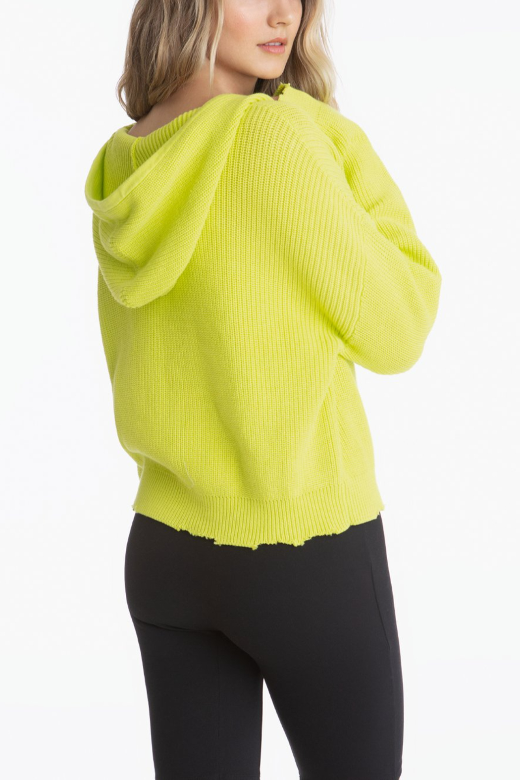 525 America Citron Drop Shoulder Shaker Hoodie - Side Cropped Image