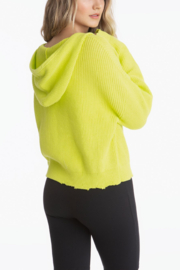525 America Citron Drop Shoulder Shaker Hoodie - Side cropped