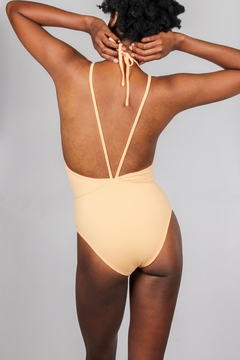 beach joy Citrus Strappy One-Piece - Alternate List Image