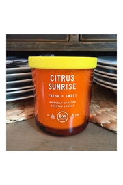 DW Home Citrus Sunrise Candle - Front cropped