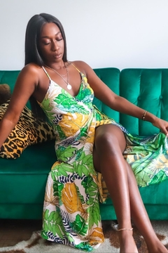 Pinch Tropical Maxi Wrap Dress - Product List Image