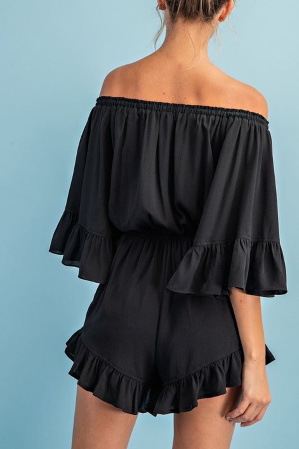 ee:some City Girl Chic Romper - Side Cropped Image