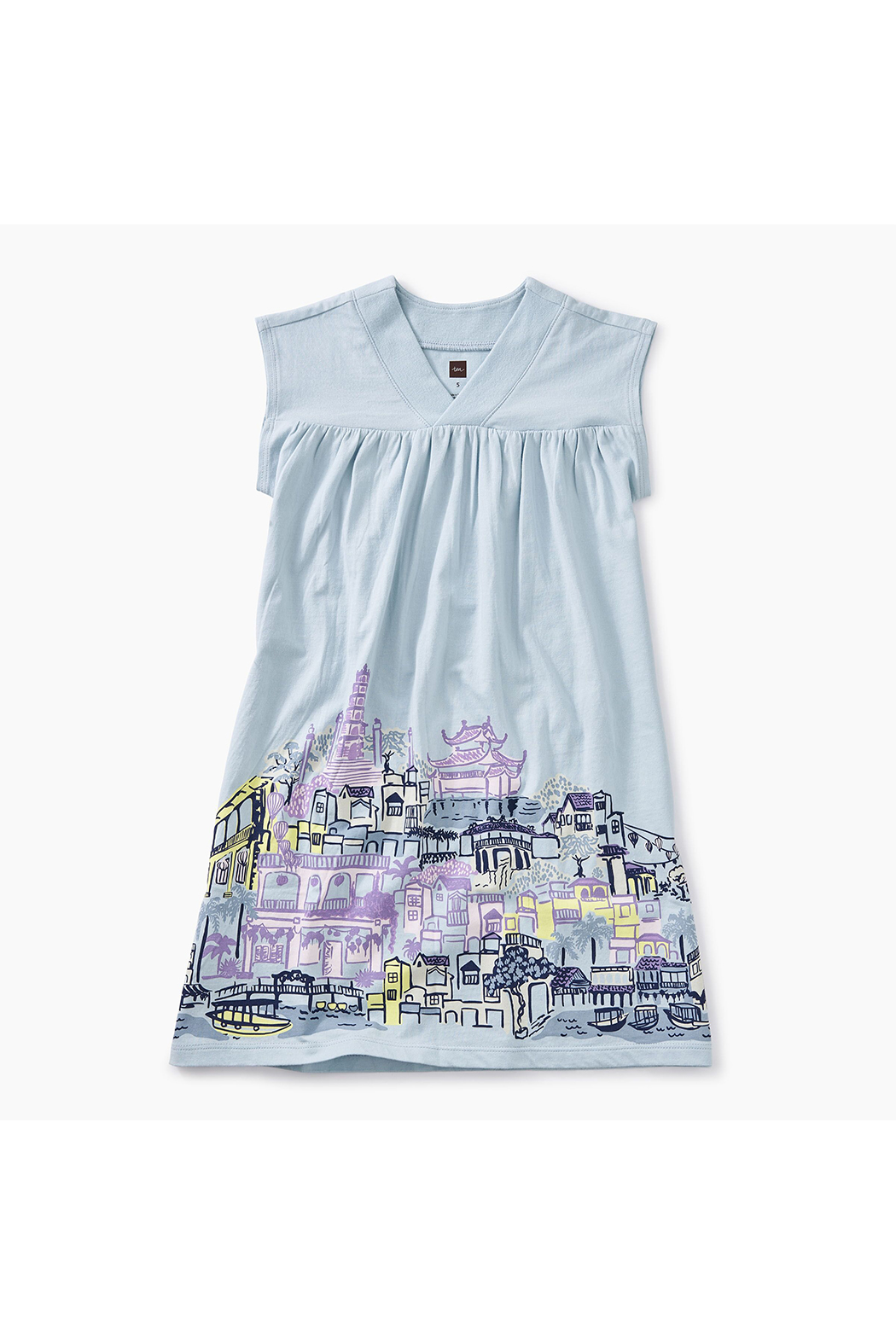 e57bbad835 Tea Collection City Graphic Trapeze Dress from Oregon by Hopscotch ...