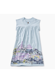 Tea Collection City Graphic Trapeze Dress - Product Mini Image