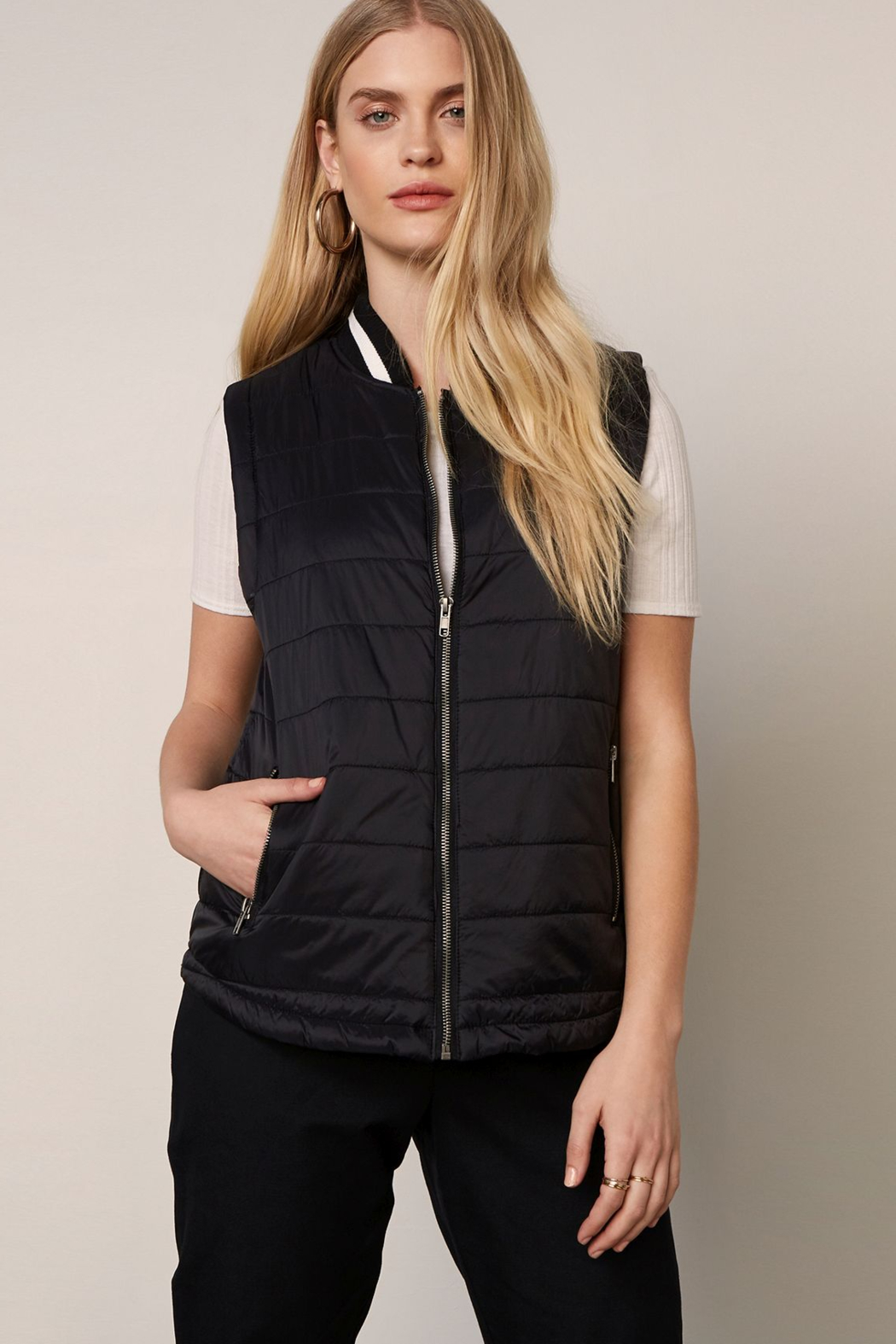 BB Dakota  City Slicker Vest - Front Cropped Image