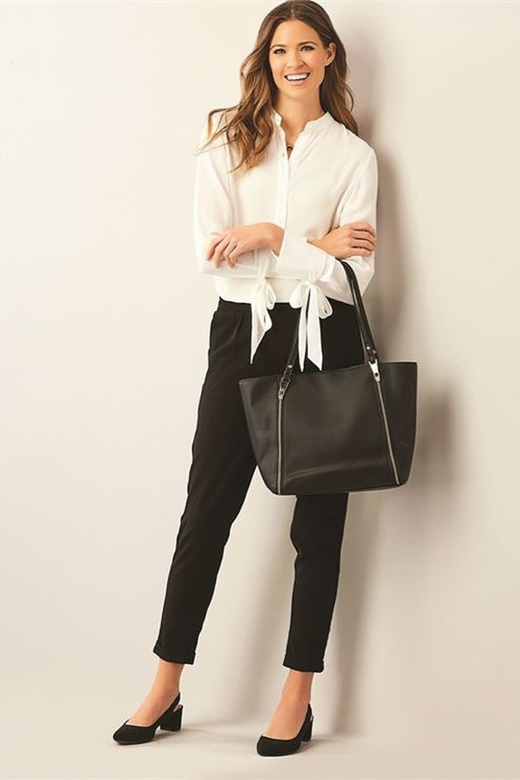 Charlie Paige City Tote - Front Cropped Image