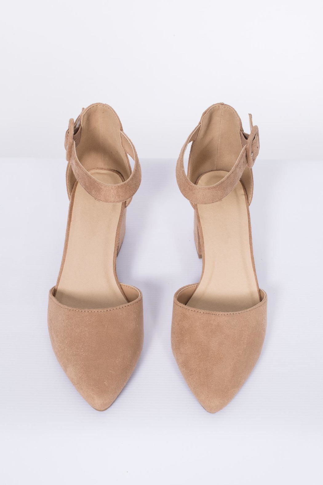 City Classified Ankle Strap Pump - Side Cropped Image