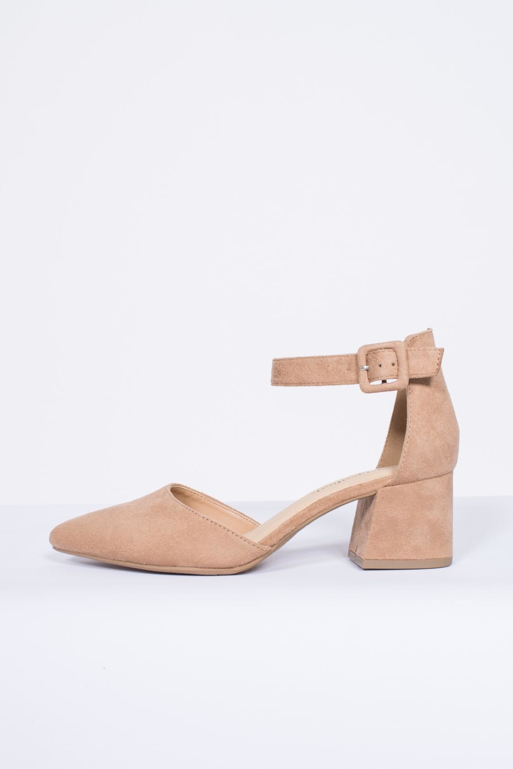 City Classified Ankle Strap Pump - Main Image