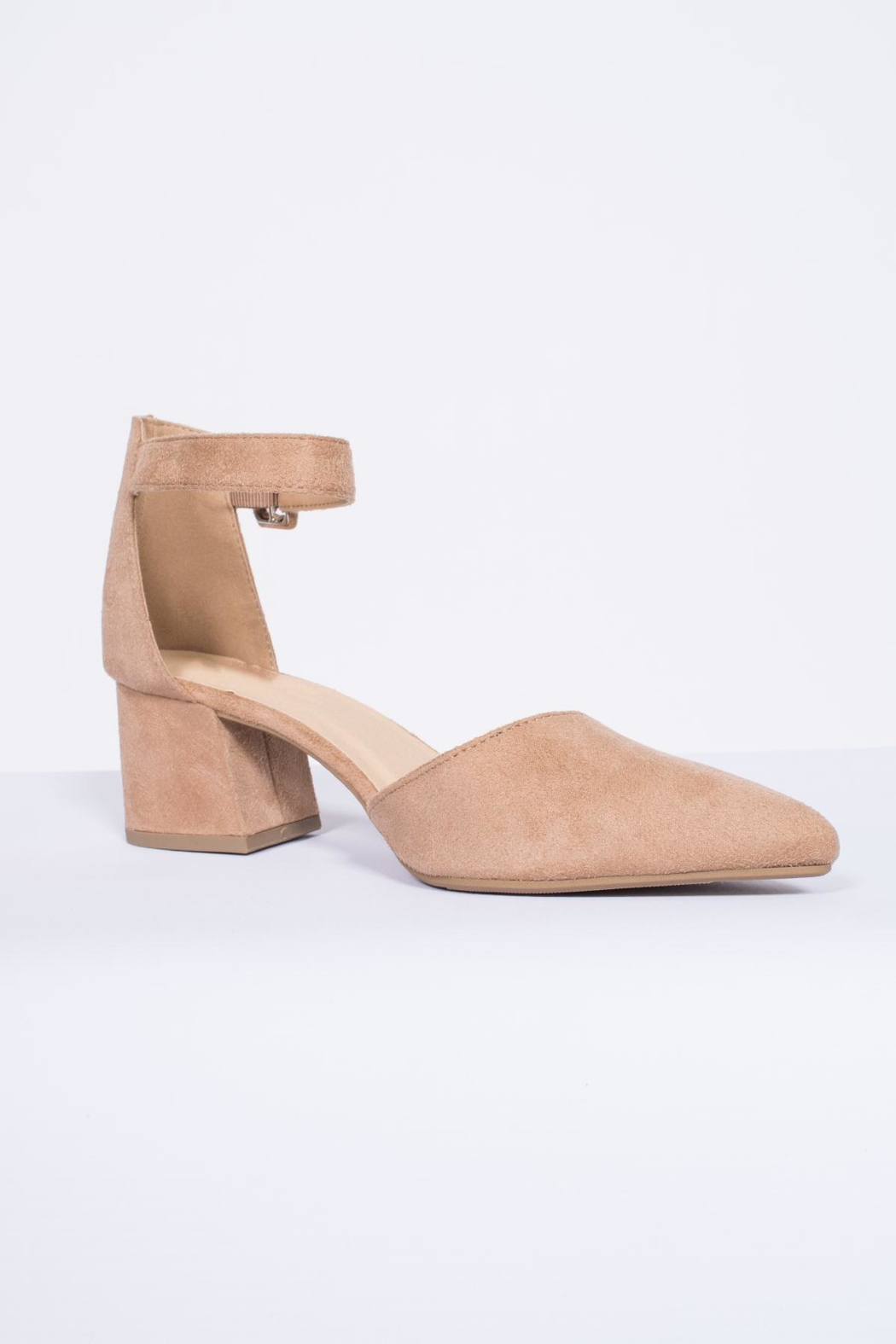 City Classified Ankle Strap Pump - Front Full Image