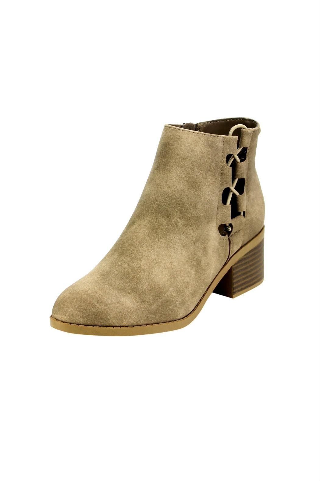 City Classified Derby Cut-Out Bootie - Main Image