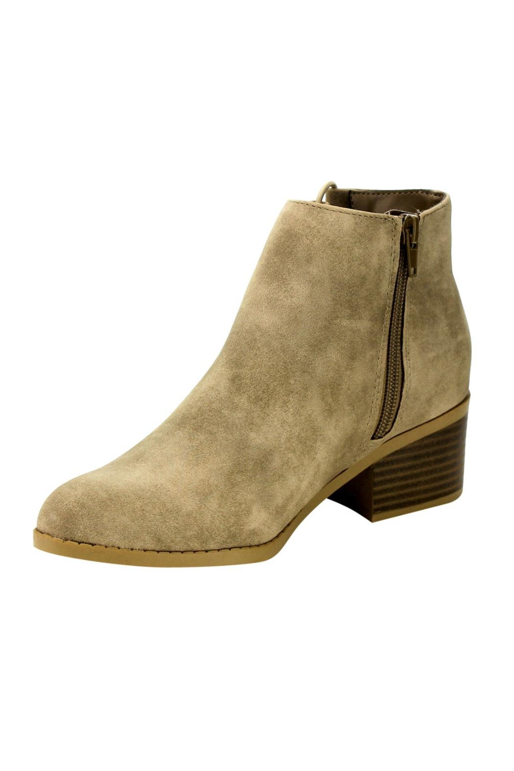 City Classified Derby Cut-Out Bootie - Side Cropped Image