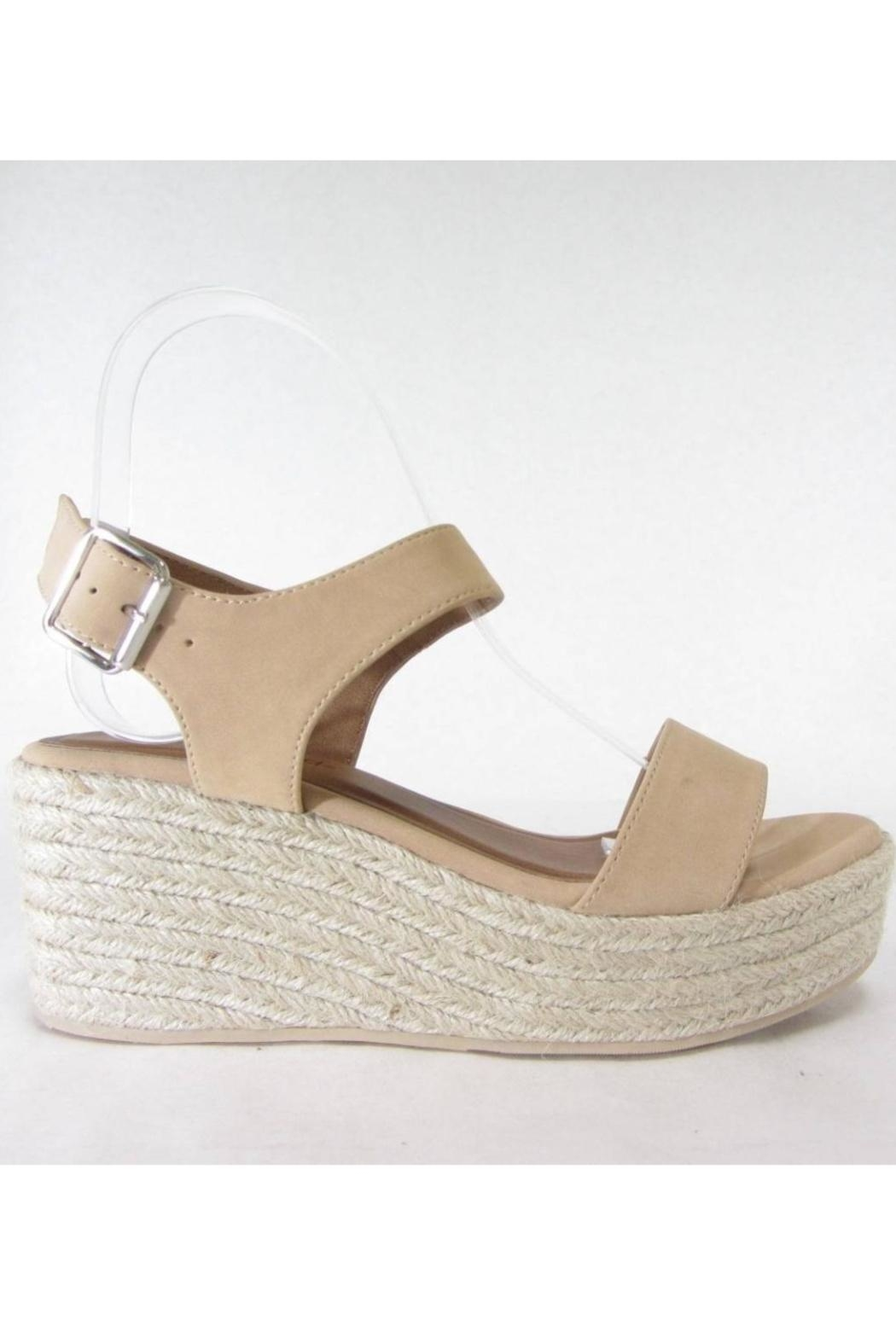 City Classified Luthor Nude Espadrille - Front Cropped Image
