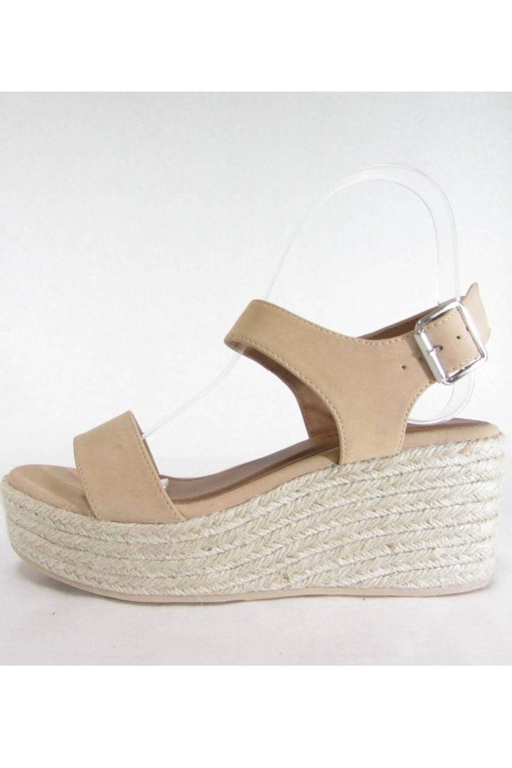 City Classified Luthor Nude Espadrille - Main Image