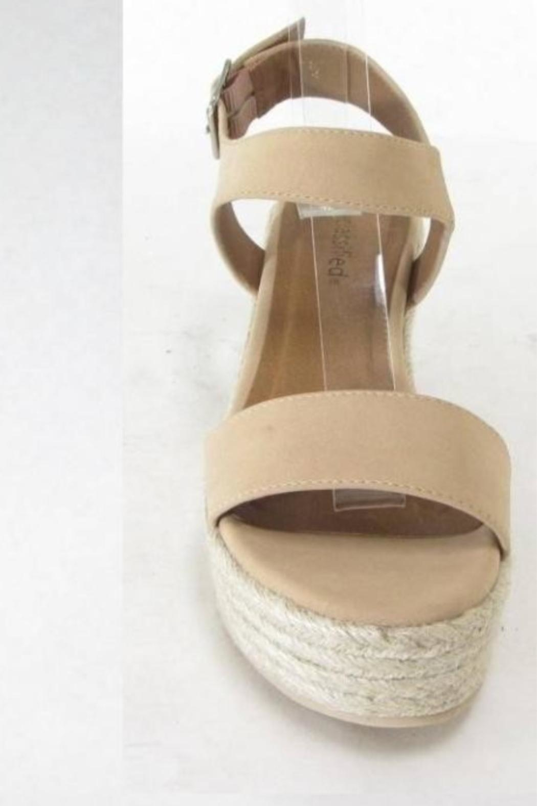 City Classified Luthor Nude Espadrille - Front Full Image