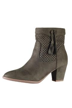 City Classified Marlo Olive Booties - Product List Image