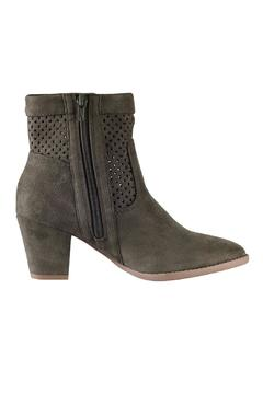 City Classified Marlo Olive Booties - Alternate List Image