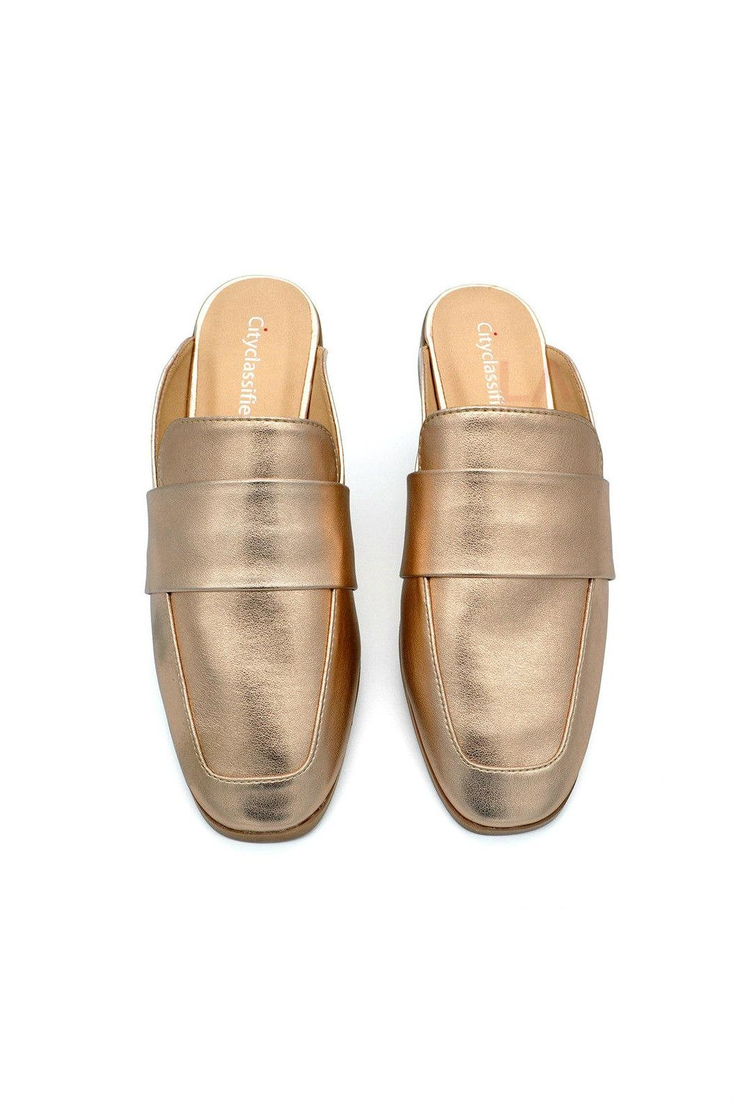 City Classified Nun Loafer Slide - Side Cropped Image