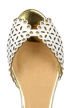 City Classified Perforated Studded Sandal - Alternate List Image