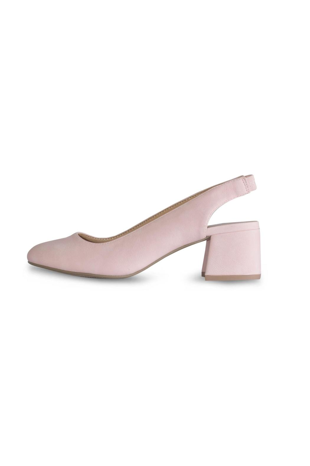 City Classified Pink Slingback Pump - Main Image