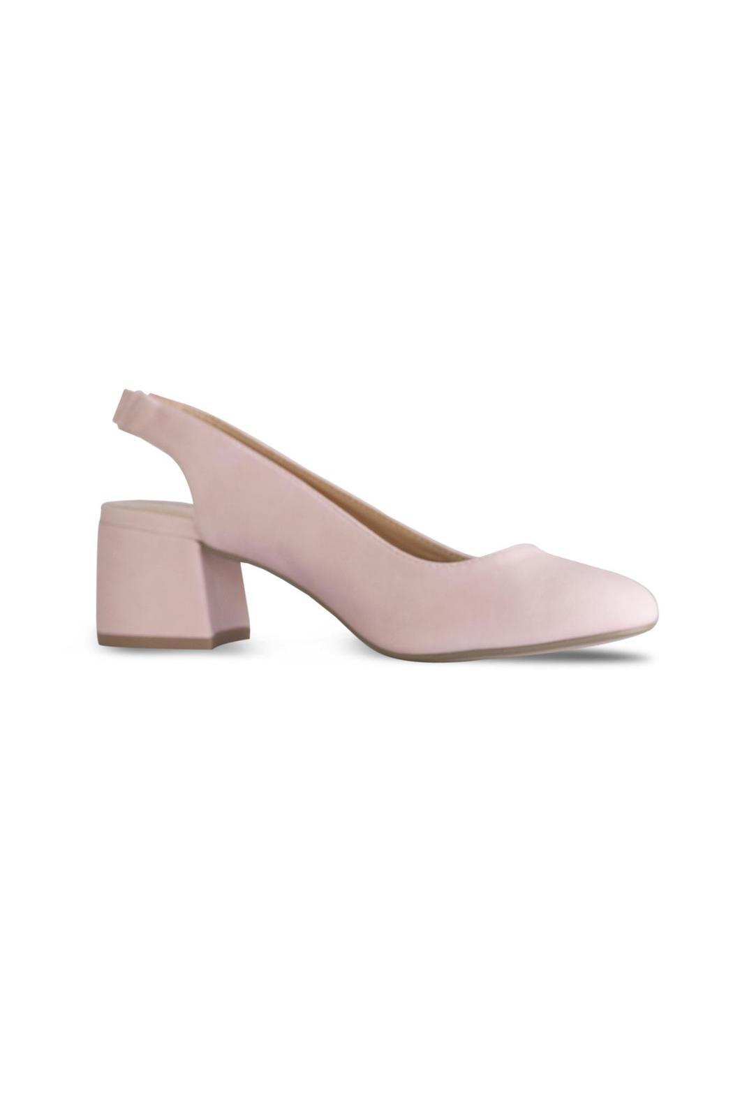 City Classified Pink Slingback Pump - Front Full Image