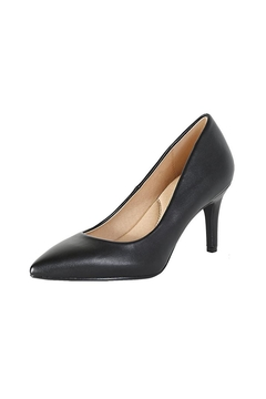 City Classified Black Tracey Pumps - Alternate List Image
