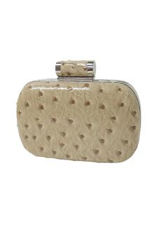 Shoptiques Product: Evening Ostrich Clutch