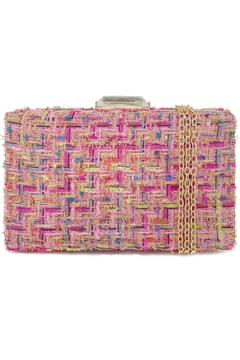 Shoptiques Product: Tweed Box Clutch
