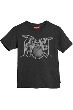 City Threads Grey Drums Tee - Alternate List Image