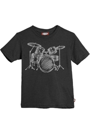 City Threads Grey Drums Tee - Product Mini Image