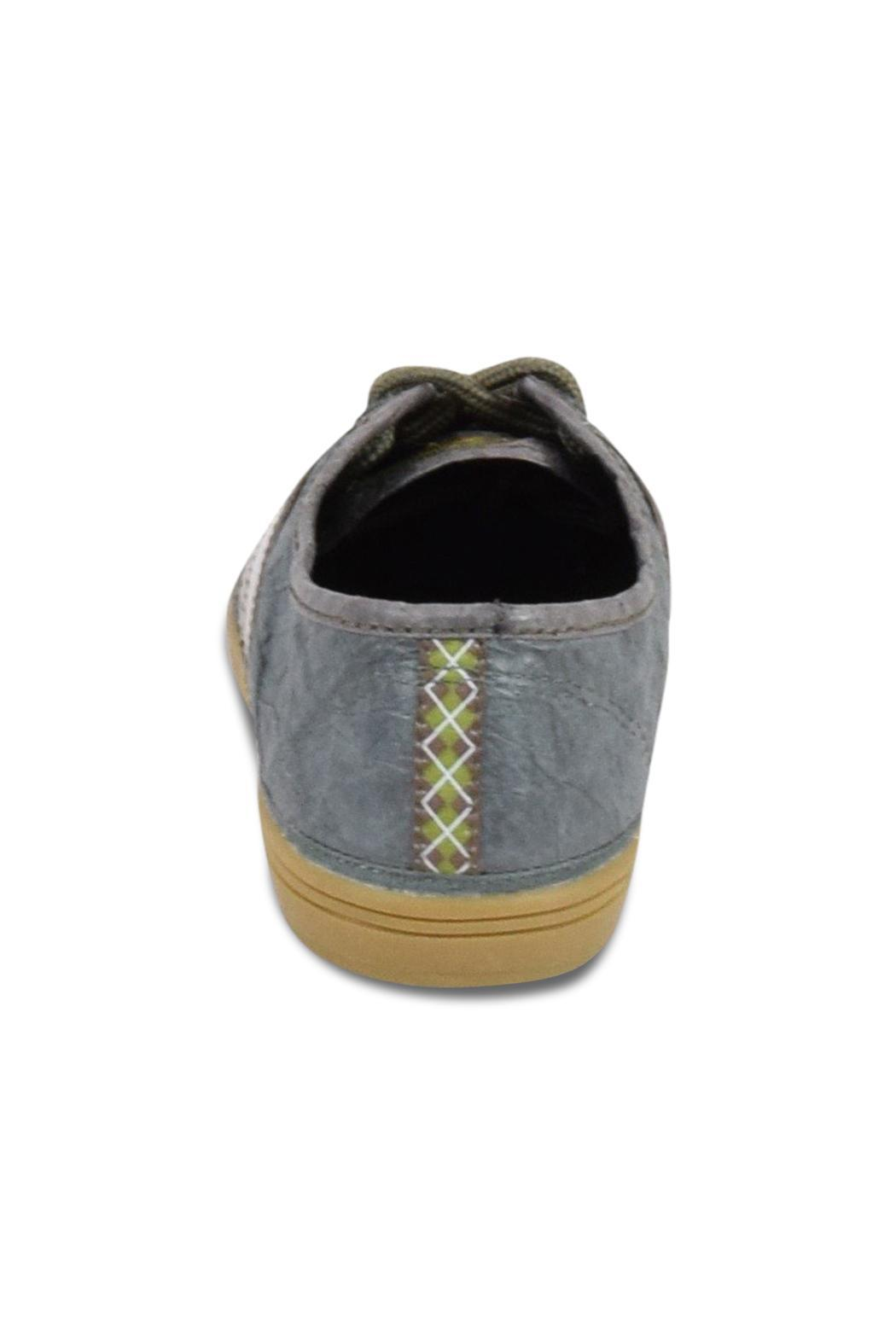 Civic Duty Crinkle Tennis Shoe - Front Full Image