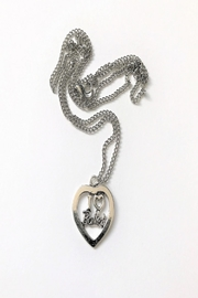 CJ Mercantile Heart Ballet Necklace - Product Mini Image