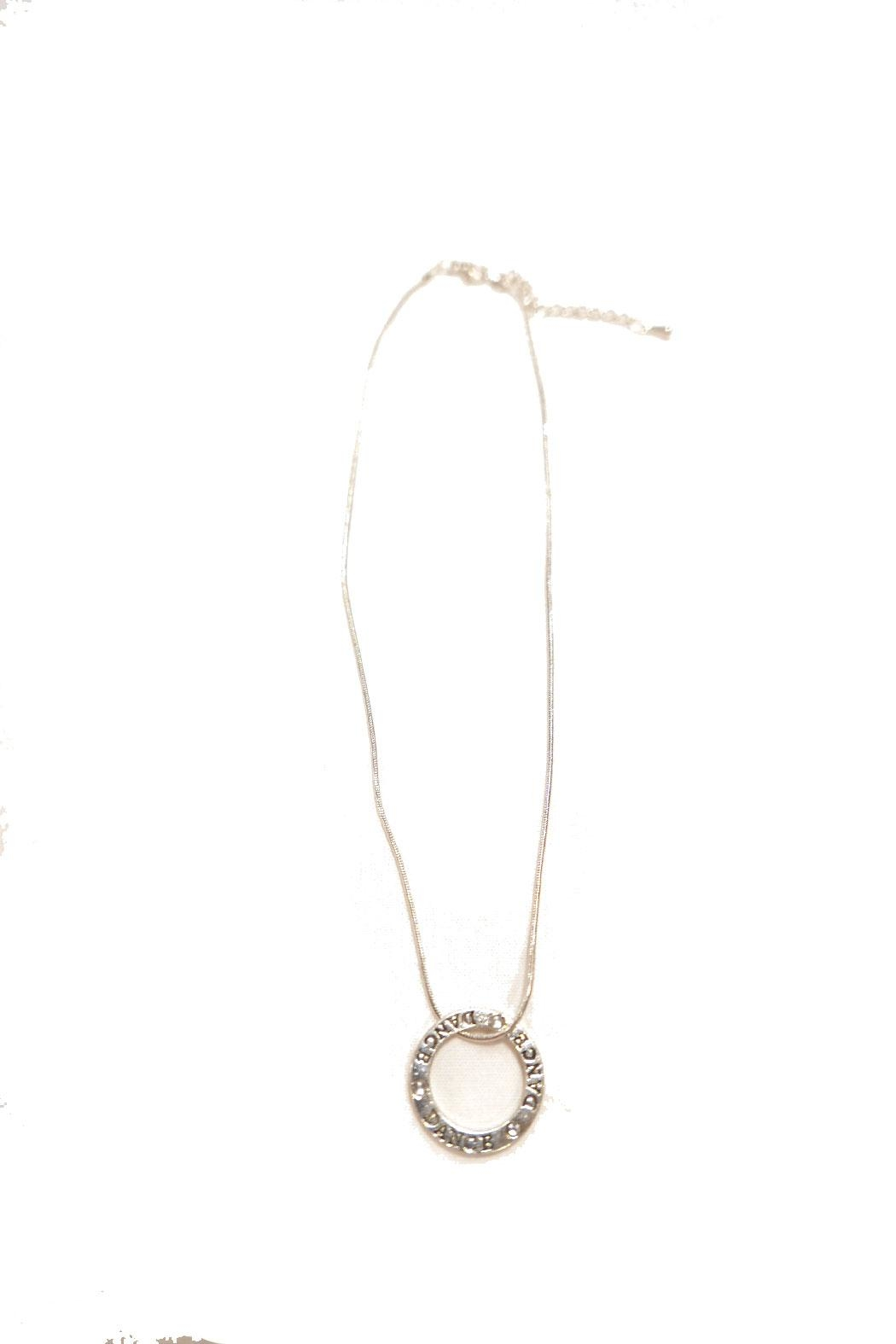 CJ Mercantile Dance Circle Necklace - Front Full Image
