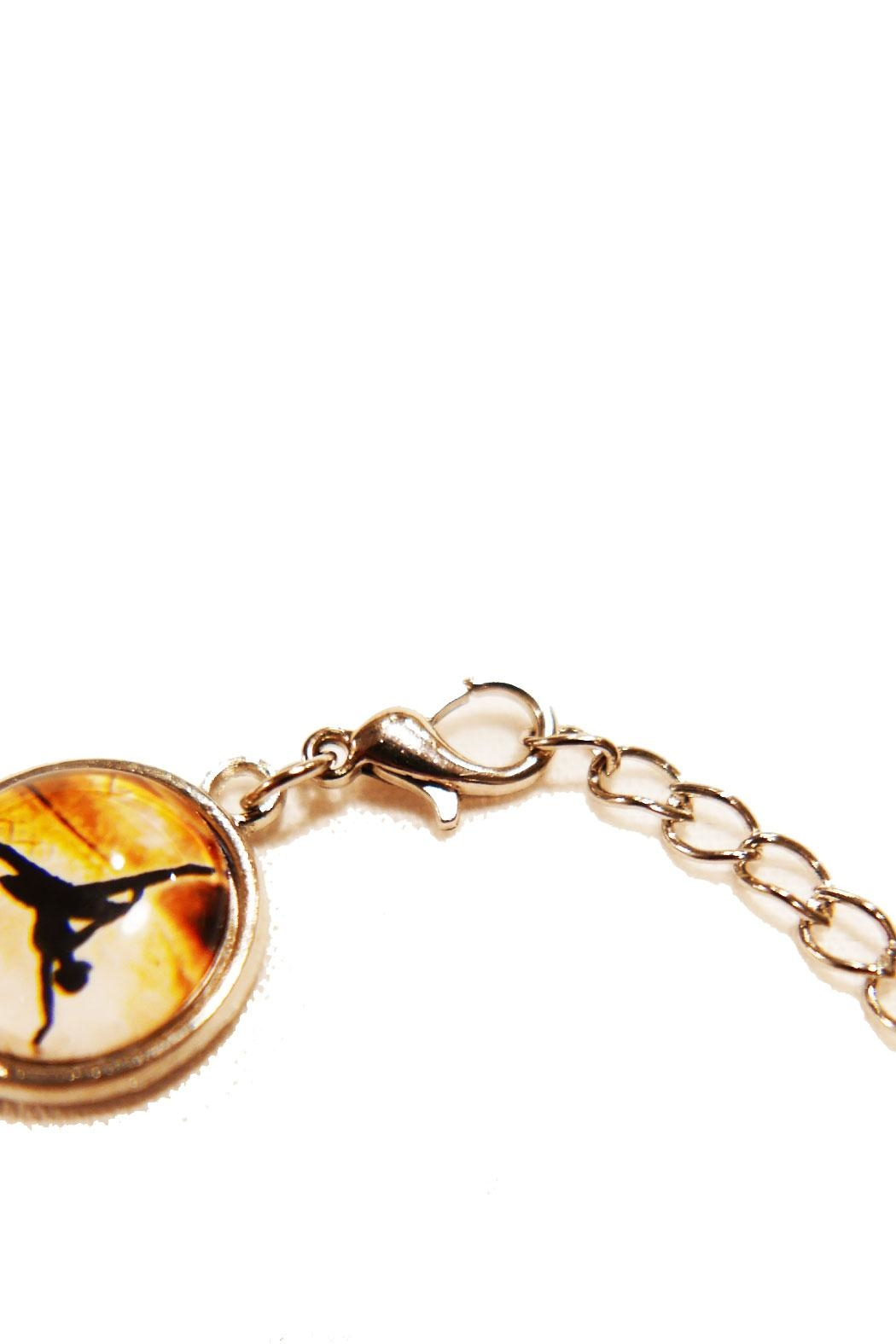 CJ Mercantile Dance Pose Bracelet - Back Cropped Image