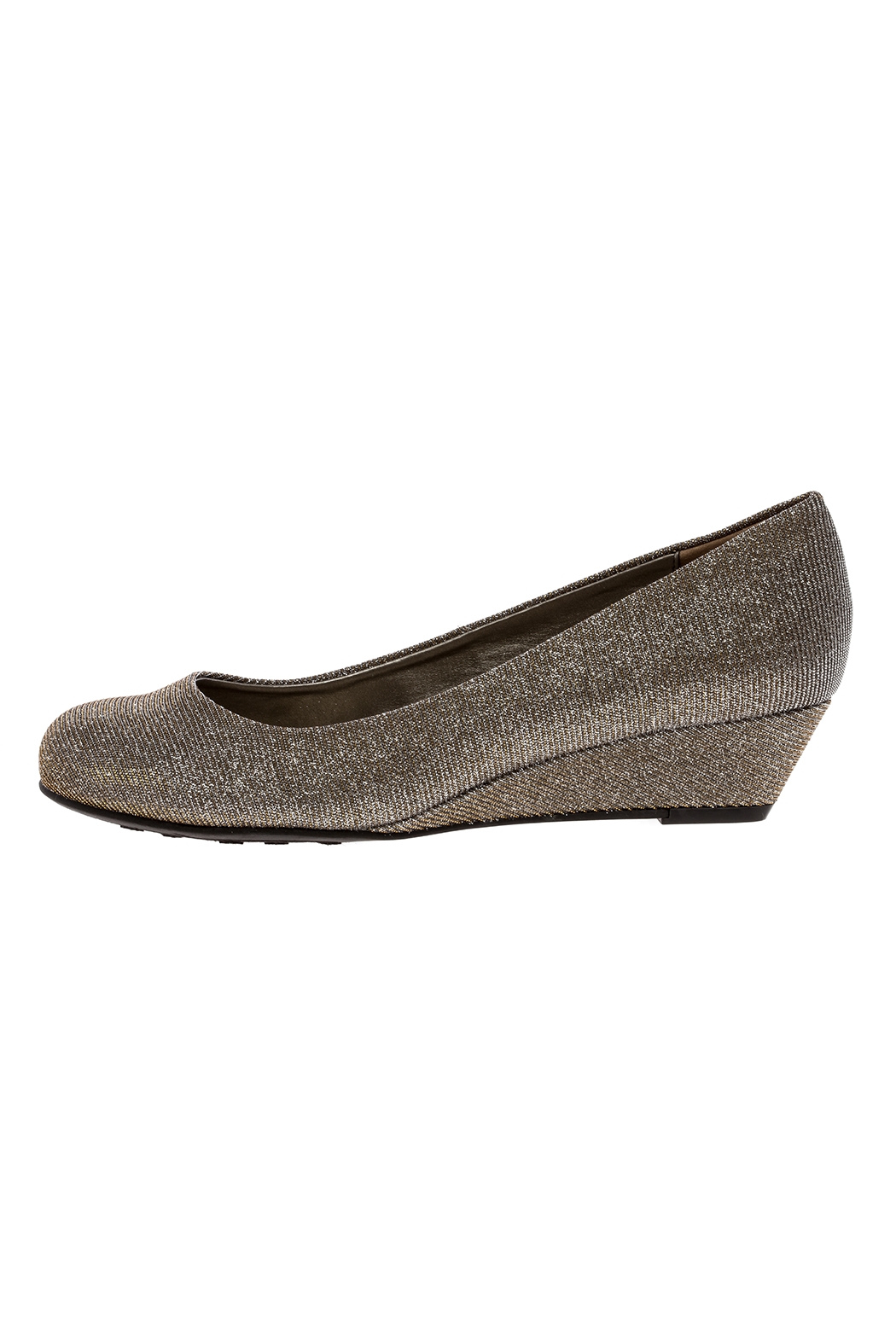 CL by Chinese Laundry Glitter Pump Wedge - Front Full Image