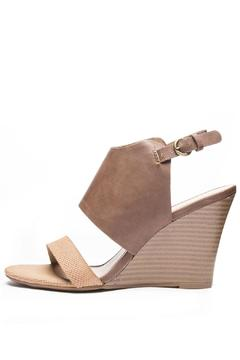 CL by Chinese Laundry Baja Tan Wedge - Product List Image
