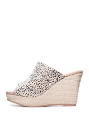 CL by Chinese Laundry Cheetah Mule Wedge - Product Mini Image